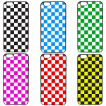 checkered colors
